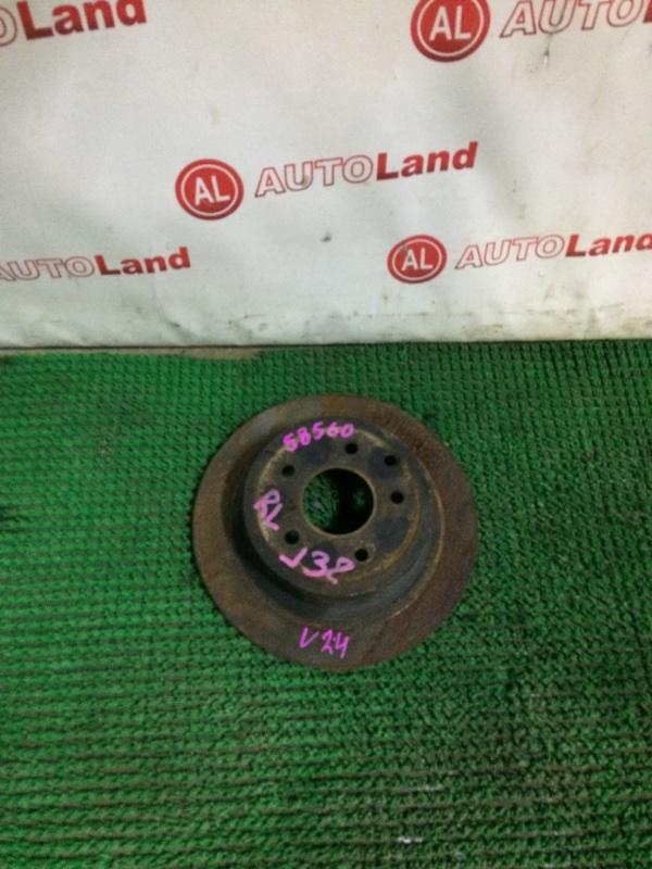 Тормозной диск Nissan Teana J32 задний левый