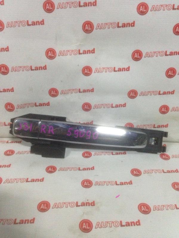Дверная ручка Nissan Teana J31 задняя правая