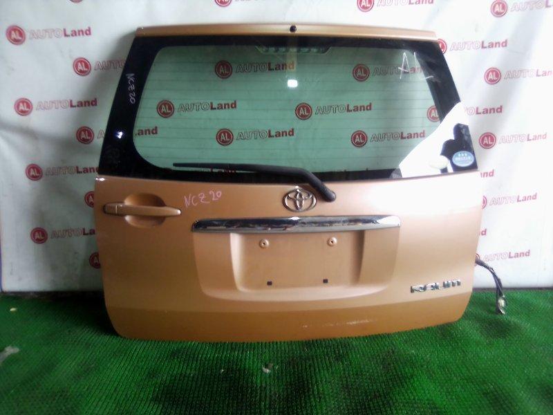 Дверь 5я Toyota Raum NCZ20