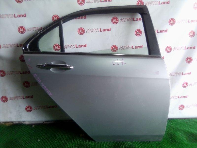 Дверь боковая Honda Accord CL7 задняя правая