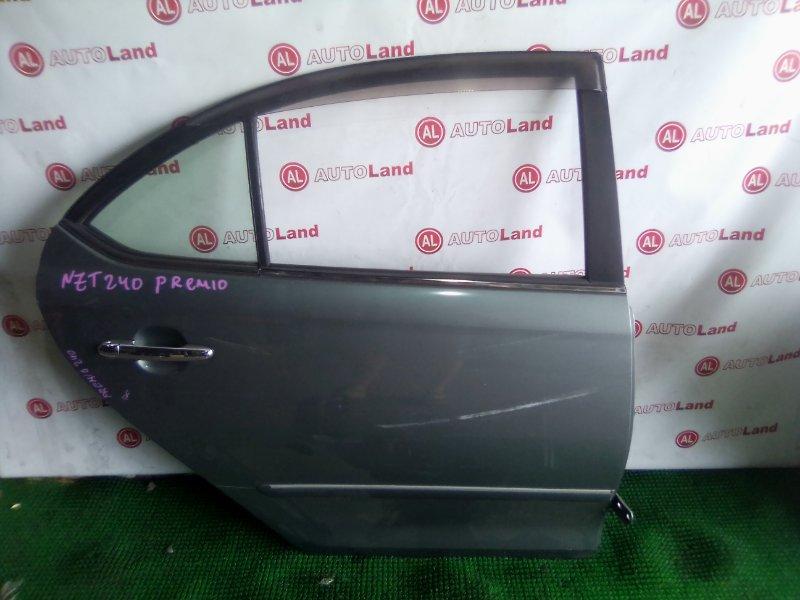Дверь боковая Toyota Premio NZT240 задняя правая