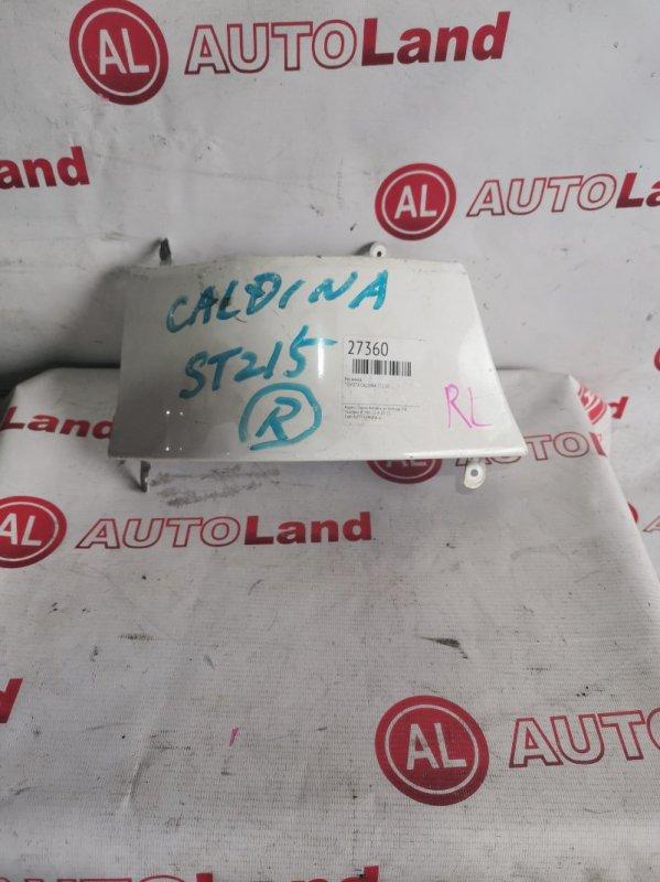 Ресничка Toyota Caldina ST210 задняя левая