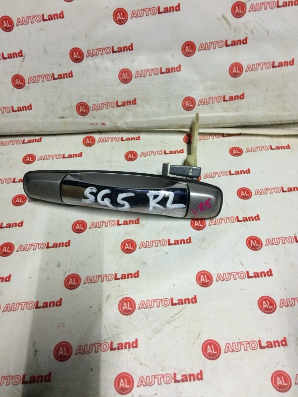 Ручка двери наружняя Subaru Forester SG5 задняя левая