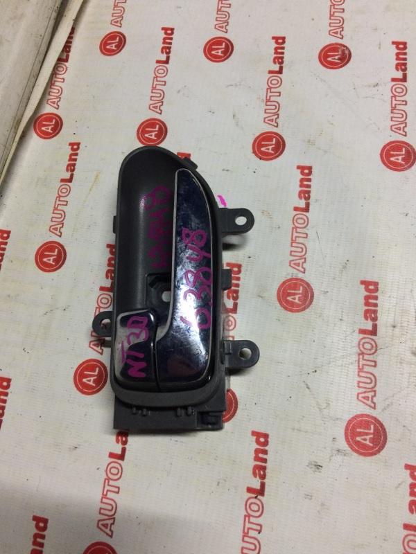 Ручка двери внутреняя Nissan Xtrail NT31 передняя левая