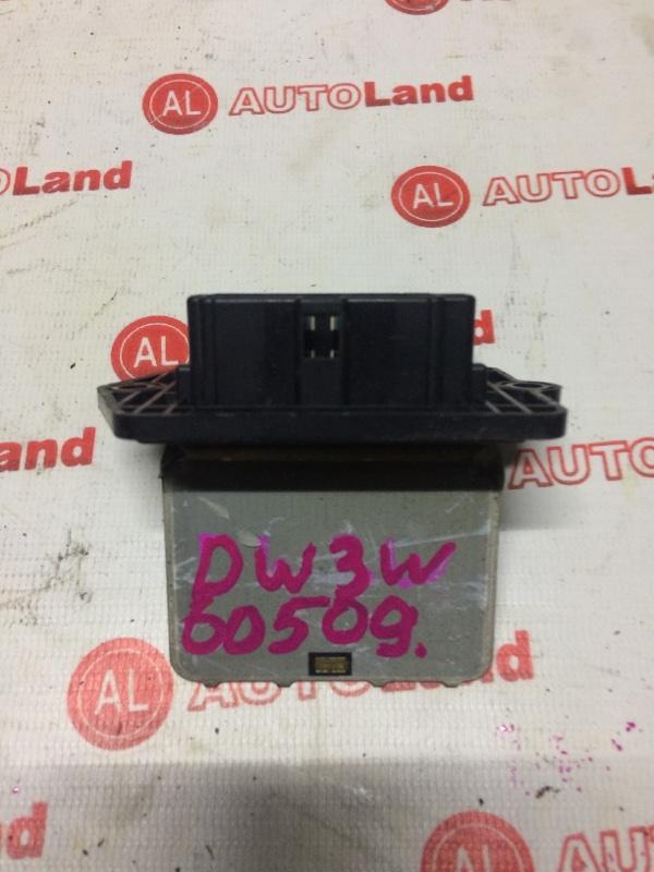 Реостат Mazda Demio DW3W