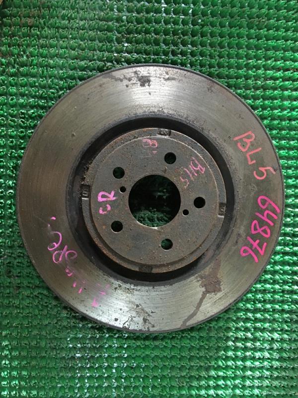 Диск тормозной Subaru Legacy B4 BLE передний