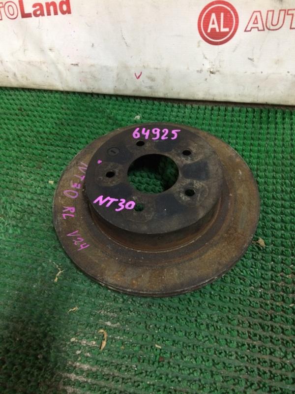 Диск тормозной Nissan Xtrail NT30 задний