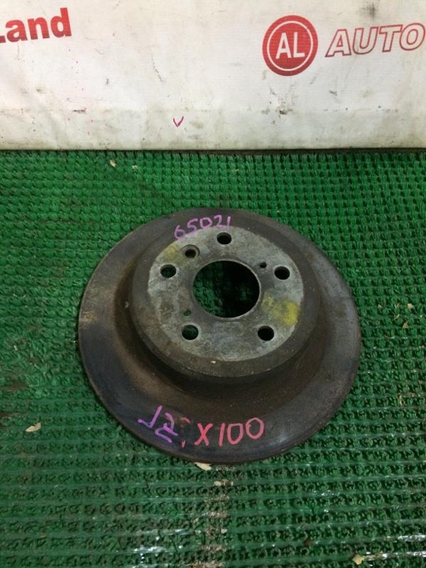 Диск тормозной Toyota Chaser JZX100 задний