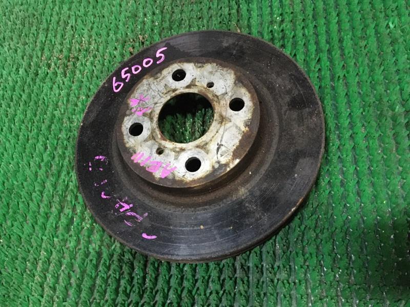 Диск тормозной Toyota Spacio AE111 передний