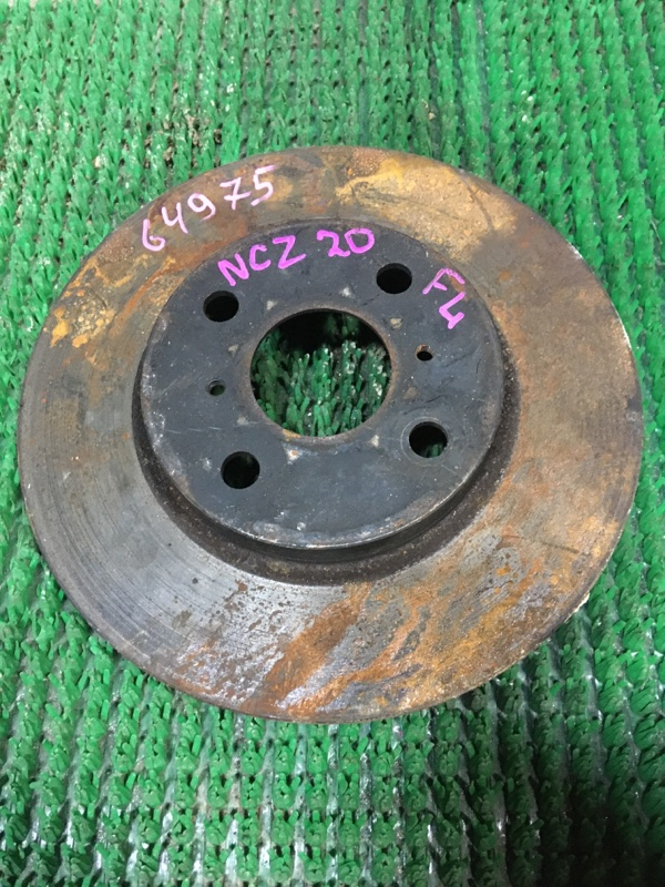 Диск тормозной Toyota Raum NCZ20 передний