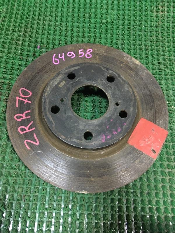 Диск тормозной Toyota Noah ZRR70 передний