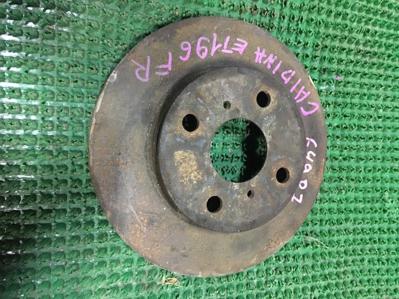 Диск тормозной Toyota Caldina ET196 5E- FE передний