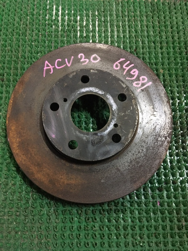 Диск тормозной Toyota Camry ACV30 2AZ-FE передний
