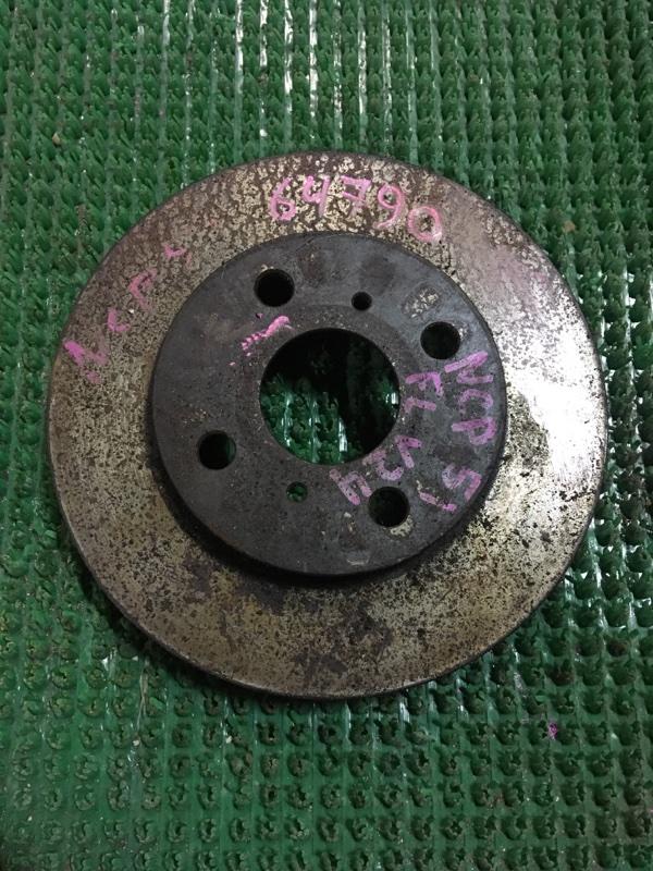Диск тормозной Toyota Probox NCP51