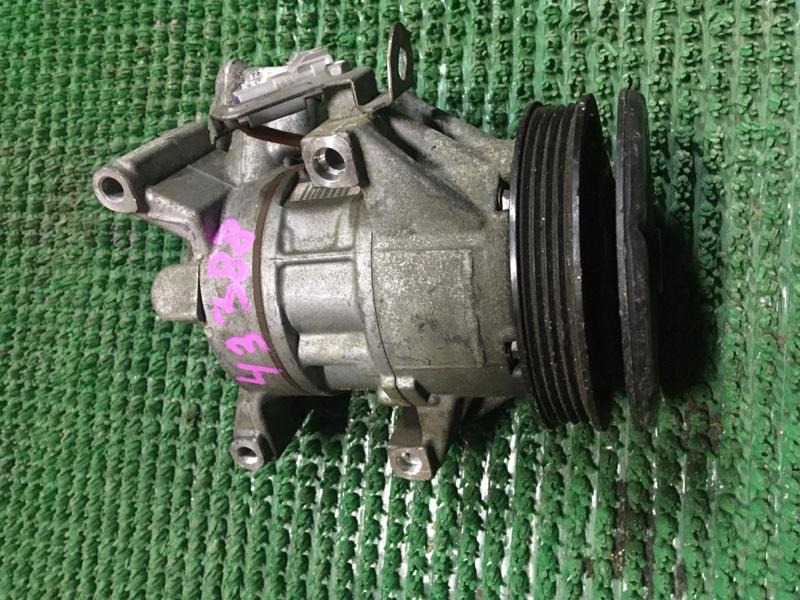 Компрессор кондиционера Toyota Probox NCP58 1NZ-FE