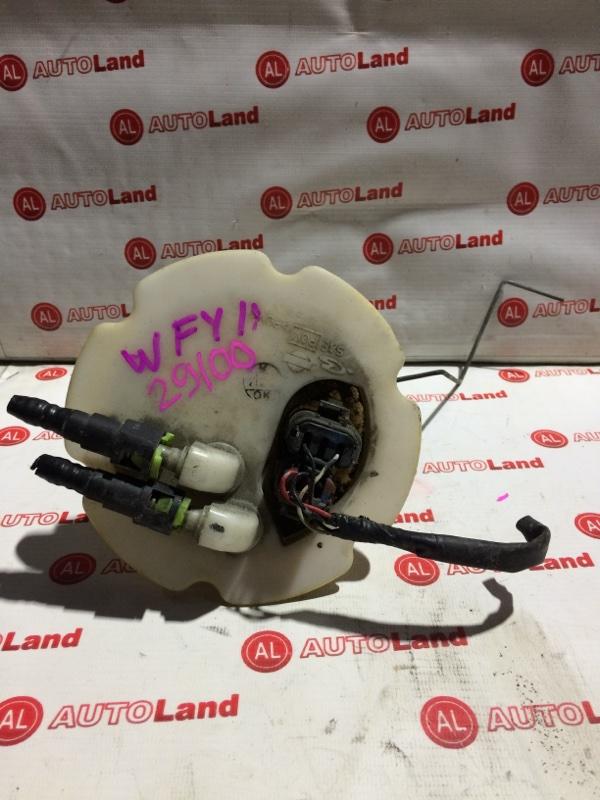 Корпус бензонасоса с датчиком уровня топлива Nissan Wingroad WFY11