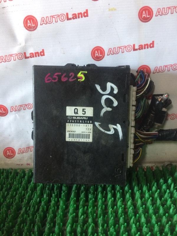 Блок управления двс Subaru Forester SG5 EJ20
