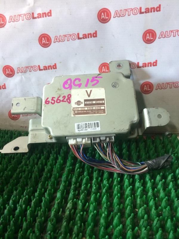 Блок управления акпп Nissan Wingroad WFY11 QG15DE