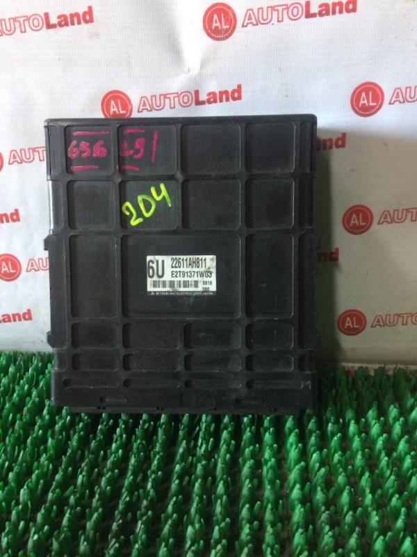 Блок управления двс Subaru Lagacy BL5 EJ204