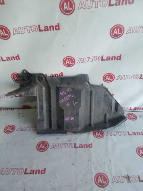 Защита двигателя Nissan Bluebird Sylphy FG10 передняя левая