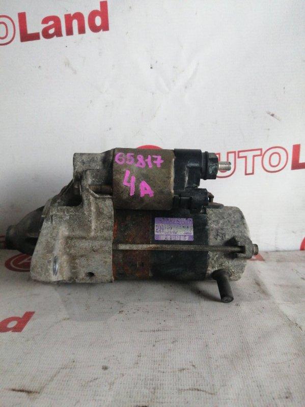 Стартер Toyota Corolla Spacio AE111 4A-FE