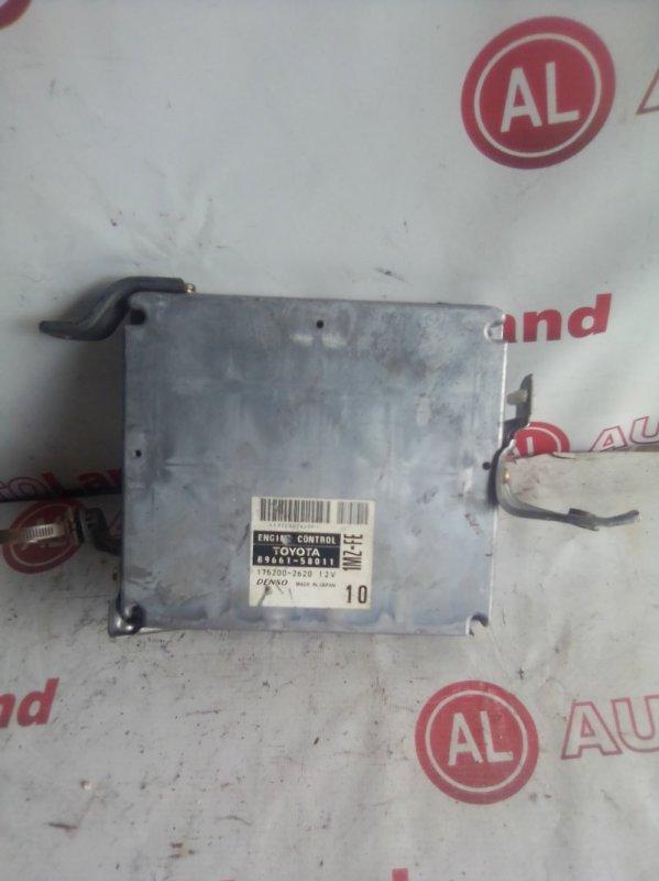 Блок управления двс Toyota Alphard MNH10 1MZ