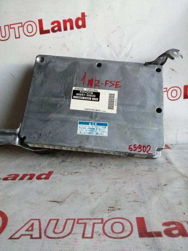 Блок управления двс Toyota Allion AZT240 1AZ FSE