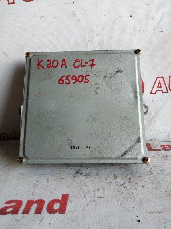 Блок управления двс Honda Accord CL7 K20A