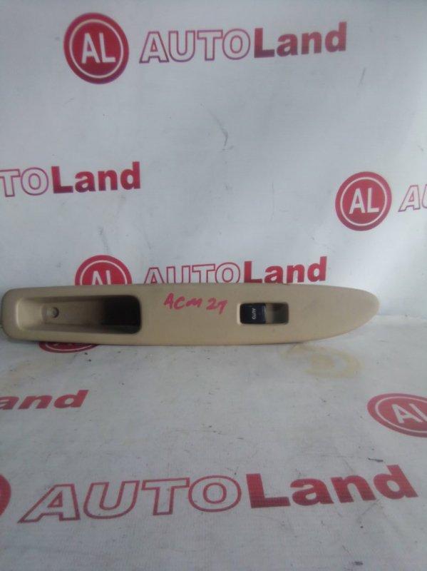 Блок управления стеклоподьемника Toyota Ipsum ACM21 передний левый