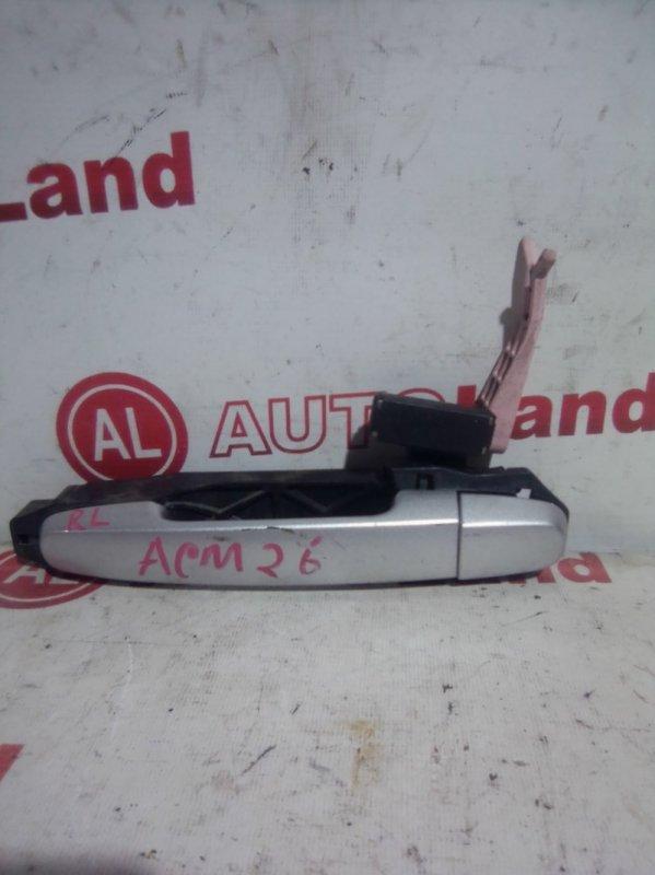 Ручка двери наружняя Toyota Ipsum ACM21 задняя левая