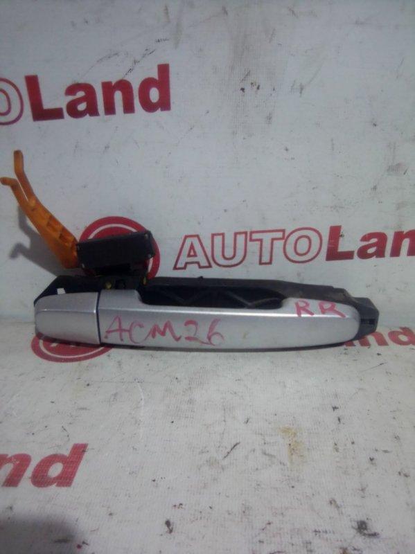 Ручка двери наружняя Toyota Ipsum ACM21 задняя правая