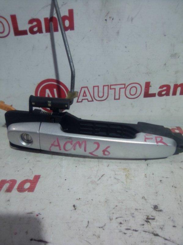 Ручка двери наружняя Toyota Ipsum ACM21 передняя правая