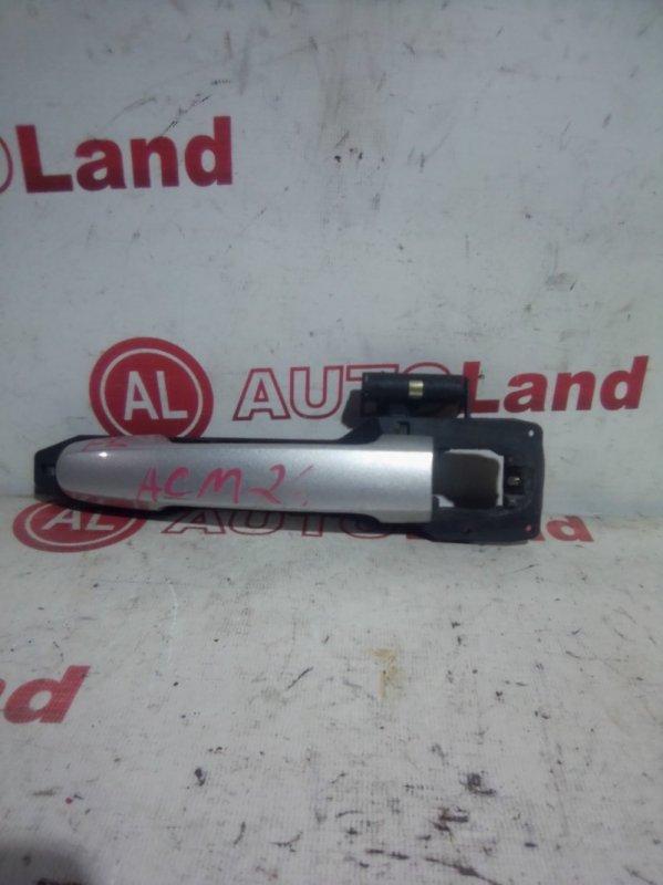Ручка двери наружняя Toyota Ipsum ACM21 передняя левая