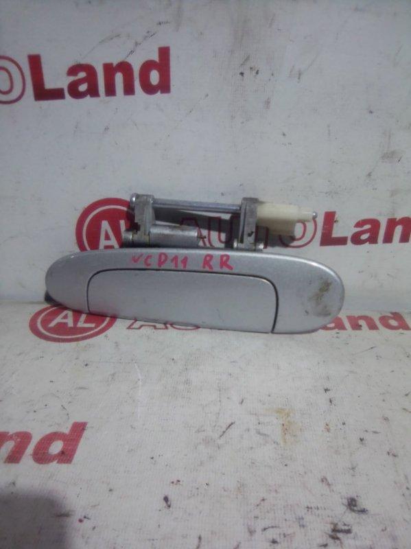 Ручка двери наружняя Toyota Platz SCP11 задняя правая