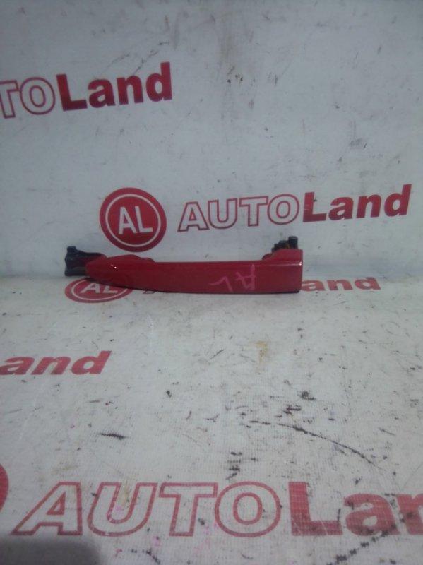 Ручка двери наружняя Toyota Noah AZR60 задняя левая