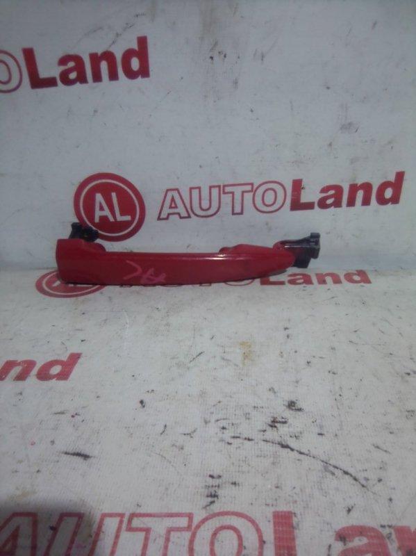 Ручка двери наружняя Toyota Noah AZR60 задняя правая