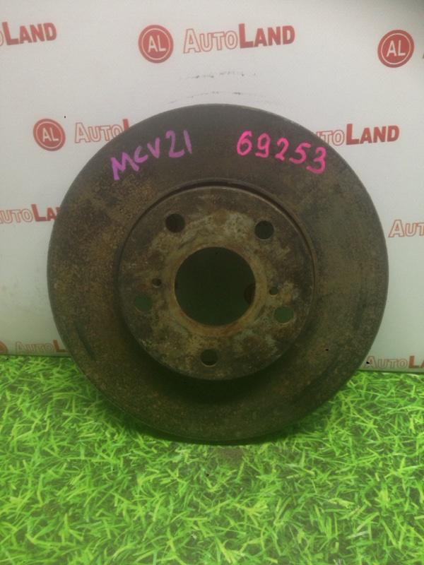 Диск тормозной Toyota Windom MCV20 передний