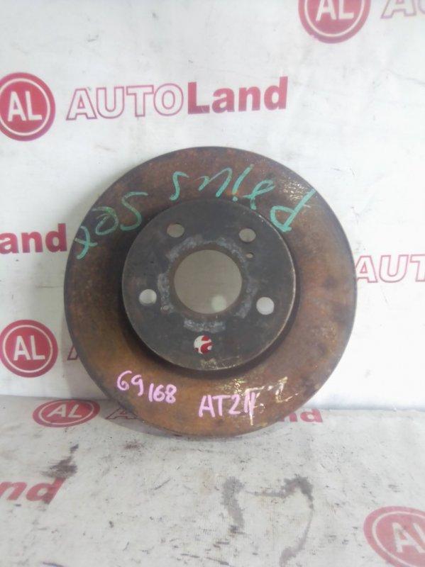 Диск тормозной Toyota Carina AT211 передний левый