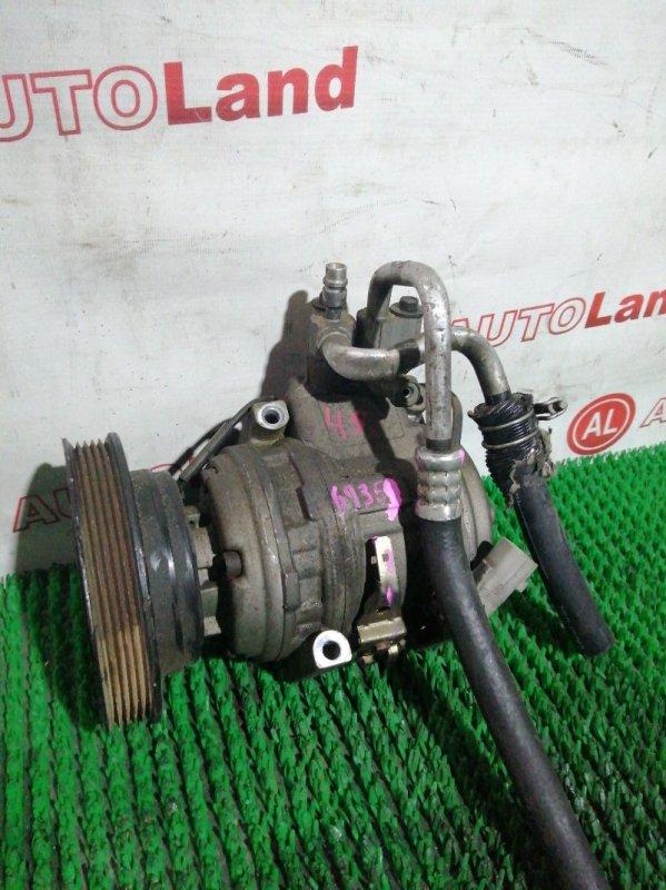 Компрессор кондиционера Toyota Carina ST191 4S-FE