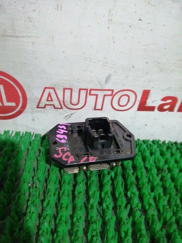 Реостат печки Toyota Platz SCP10