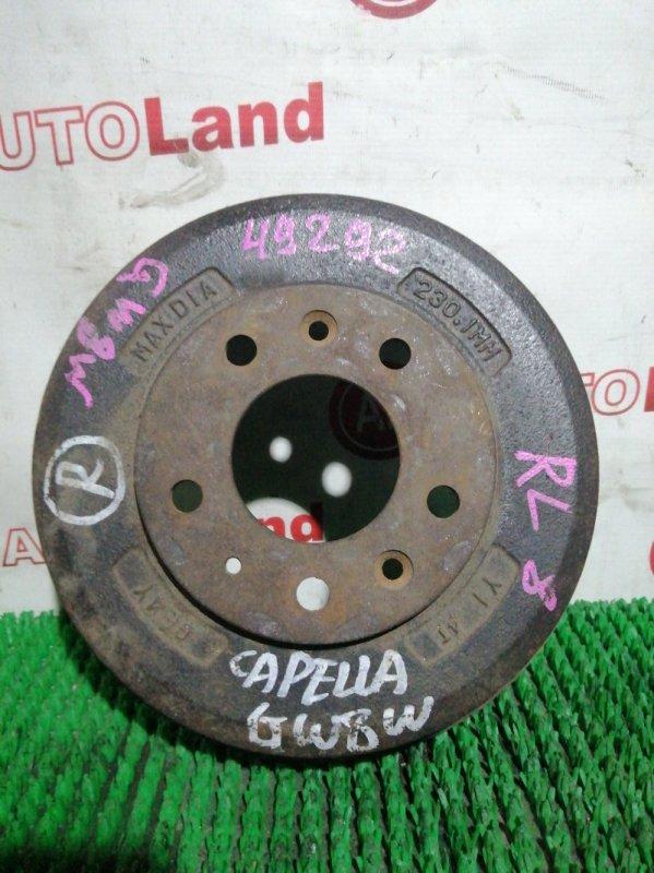 Тормозной барабан Mazda Capella CW8W задний