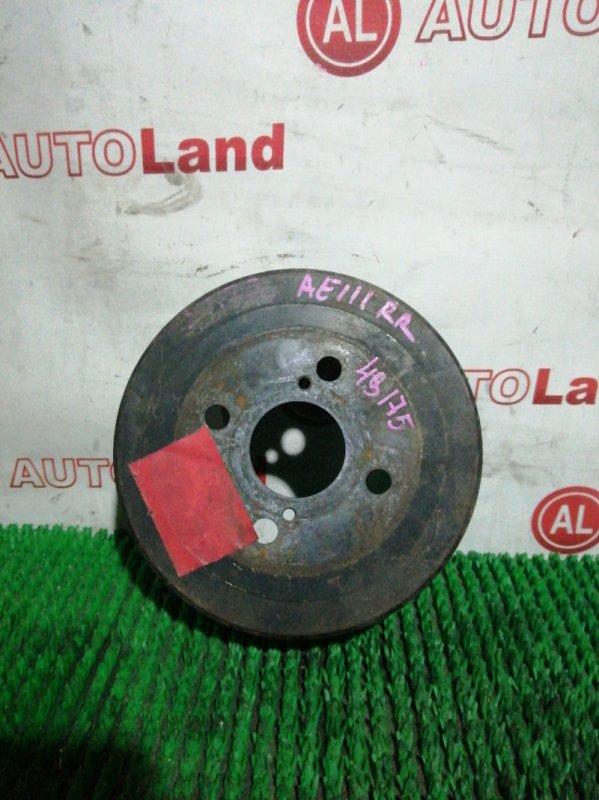 Тормозной барабан Toyota Spacio AE111 задний