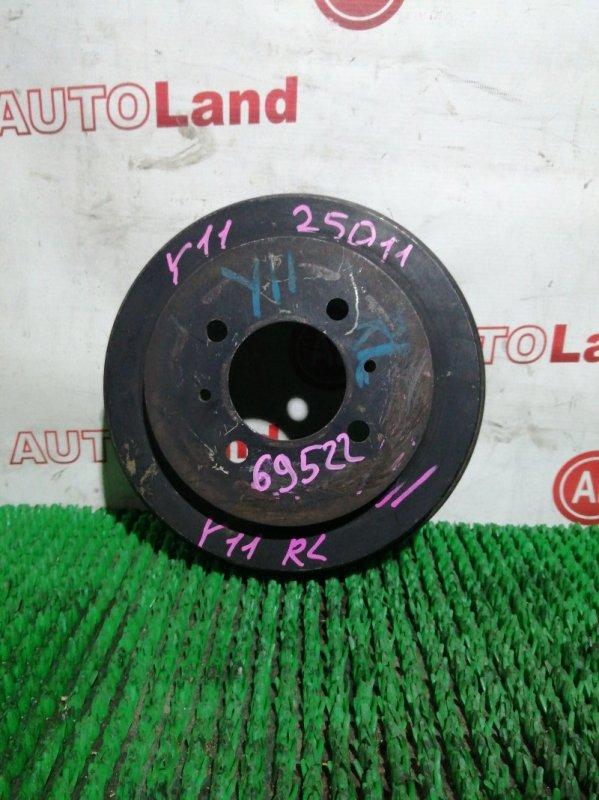 Тормозной барабан Nissan Wingroad WFY11 QG15DE задний левый