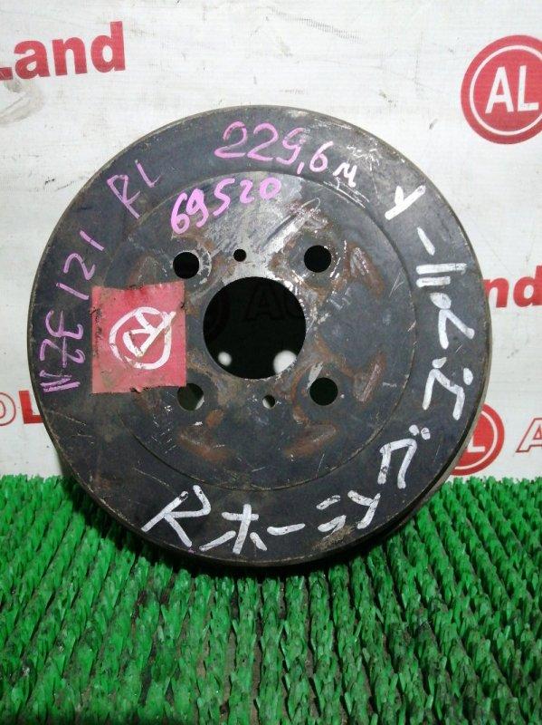 Тормозной барабан Toyota Corolla Spacio NZE121 1NZ-FE задний левый