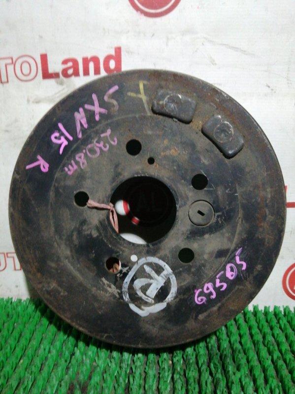 Тормозной барабан Toyota Gaia SXM15 3S-FE задний левый