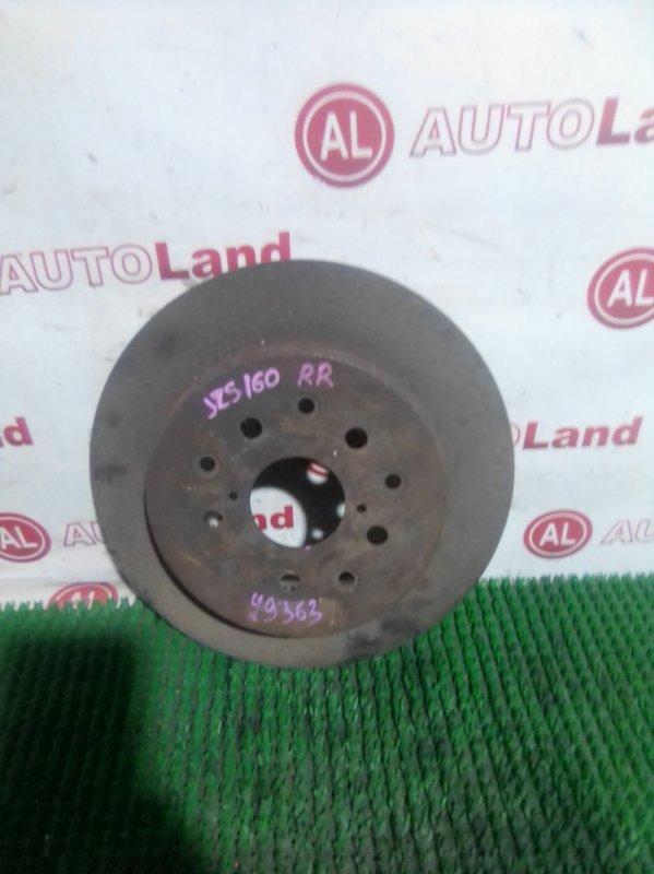Диск тормозной Toyota Crown JZS160 задний