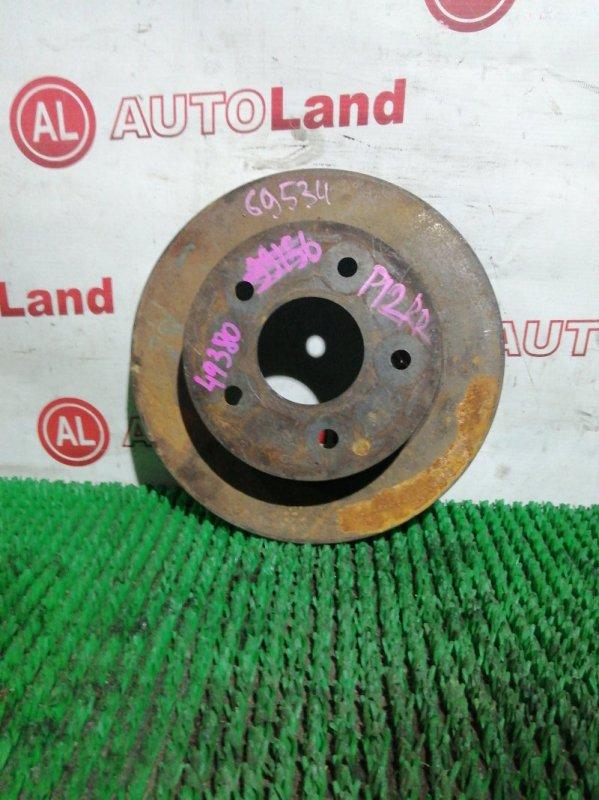 Тормозной диск Nissan Primera P12 QG18 задний