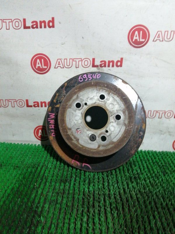 Диск тормозной Toyota Alphard MNH10 1MZ-FE задний