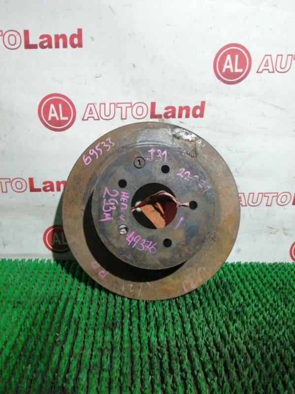 Диск тормозной Nissan Teana J31 VQ23 задний