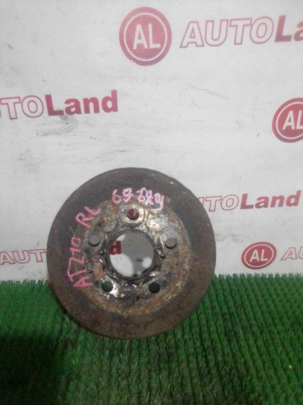 Тормозной барабан Toyota Caldina AT211 задний правый